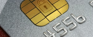 EMV credit card chip