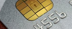 EMV credit card chip