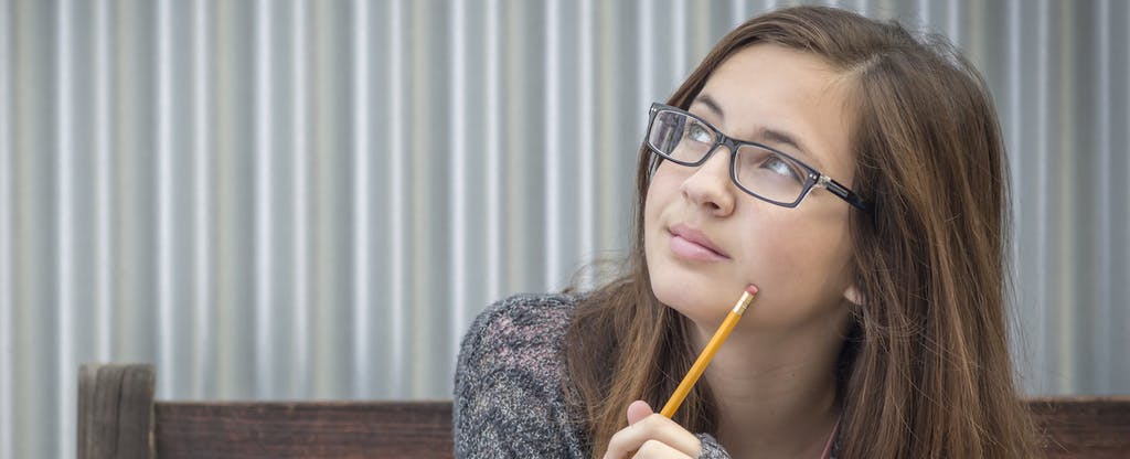 Young woman wondering how to build credit from scratch