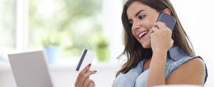 """Woman wondering, """"Should I be paying bills with a credit card?"""""""