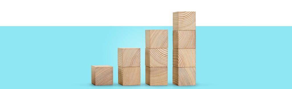 Image of building blocks to represent building credit