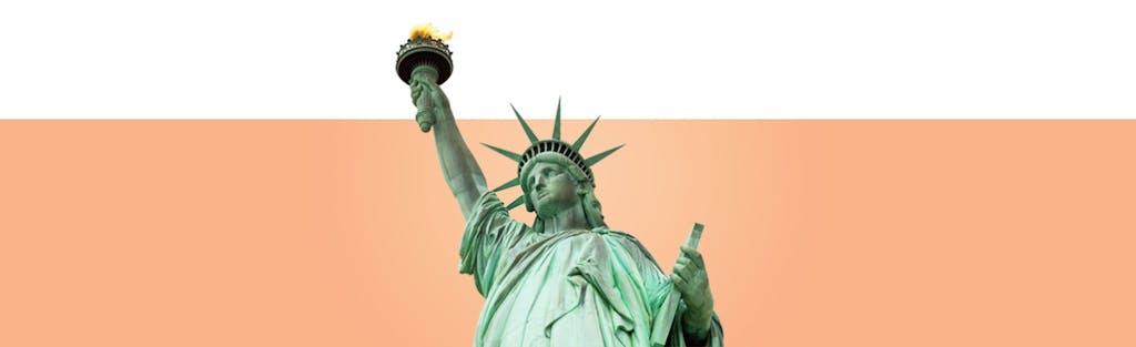 una imagen de la estatua de la libertad